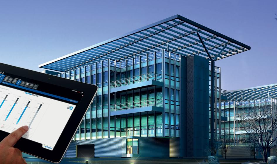 Power Monitoring of Smart Buildings concept